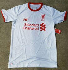New Balance, Liverpool PLAYERS JERSEY WITH NUMBER, new/tag,  white/RED