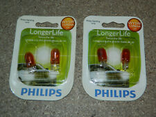 (2) NEW PHILIPS LONGER LIFE WY5W 12396NA TURN SIGNAL LIGHT BULB 12396NALLB2