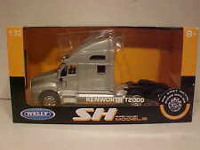 Kenworth T2000 Semi Tractor Rig Truck Diecast 1:32 Welly 12 inch Silver