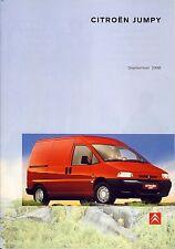 Citroen Jumpy 09 / 1998 catalogue brochure no Peugeot Expert