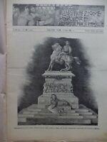 1896 DISASTER RUSSIA SCULTORE ERCOLE ROSA SCIA' Mozaffar al-Din Shah Qajar