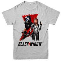Black Widow T-shirt, American Superhero, Digital Painted Art, Marvel Comics Top