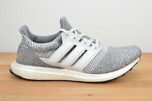 NEW Adidas Ultraboost DNA Dash Gray Suede Iridescent FW4900 Women's Sneakers
