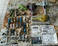 Kenner Star Wars Lot Figures Weapons Accessories 70s 80s Vintage