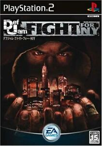 Playstation 2 Def Jam Fight for NY PS2 EA Sony From Japan