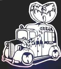 "Wu Tang Clan Ice Cream Truck Decal Sticker 5.5""X5"" (The Ice Cream Man Is Comin!)"