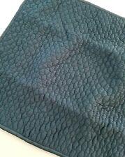 NWOT West Elm Lexington Quilted Standard Pillow Sham Cover Pool Lagoon