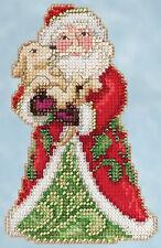 Cross Stitch Kit - Mill Hill / Jim Shore - Best Friend Santa JS20-5106