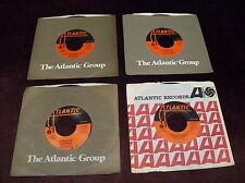 """LED ZEPPELIN - LOT OF FOUR 7"""" 45 RPM SINGLES ATLANTIC ROBERT PLANT JIMMY PAGE"""