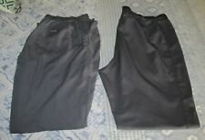 New listing Lot Of 2 Dickies & Cherokee Workwear Scrub Pants Bottoms Women's Size L Large
