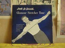 "JACK LA LANNE'S GLAMOUR STRETCHER TIME - BLUE VINYL 10"""
