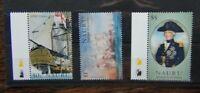 Nauru 2005 Bicentenary of Battle of Trafalgar set 2nd Issue LMM