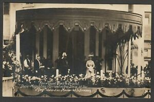 Postcard Bristol Royal Visit the King Edward VII Memorial Infirmary hospital RP