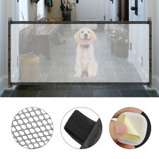 Magic Mesh Pet Dog Gate Door 6ft Barrier Safe Guard Fence Enclosure Easy Install