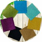 """10/20/50Pc Adhesive Glitter Paper Card Scrapbooking Crafts Various Colors 12X12"""""""
