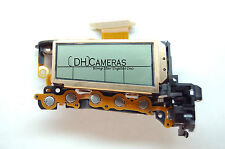 Canon EOS 60D Digital Camera Top LCD Display Screen Unit Replacement Part A0157