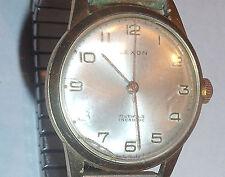 vintage mens Lexon gold plated  wristwatch  running