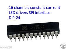 16 channels constant current LED drivers DIP arduino DM13A (STP16CP05 TLC5928)