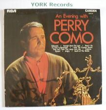 PERRY COMO - An Evening With ...  - Excellent Con LP Record RCA Camden CDM 1053