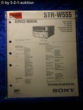 Sony Service Manual STR W550 FM/AM Receiver (#4468)