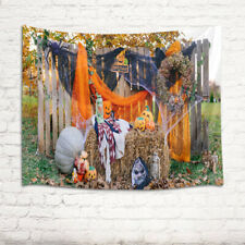 Outdoor Halloween Background Fall Decor Tapestry Wall Hanging Living Room Dorm