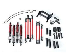Traxxas 8140R Long Arm Lift Kit, TRX-4 (Red) complete