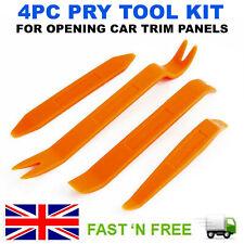 4 Pcs Car Trim Removal Tool Kit Panel Door Pry Dash Interior Clip Set Plastic