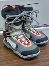 Lamar Delta Junior Linerless Snowboard Ski Boots Size 4 US Black Gray