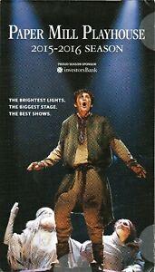 MICHAEL ARDEN Paper Mill Playhouse Season flyer Hunchback of Notre Dame Disney +