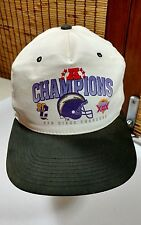 Vtg San Diego SD Chargers AFC Champions Superbowl Snapback Baseball Hat Cap