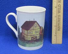 Coffee Mug Cup Design by Mindy Cain Summer Barn Farm Shed Farmhouse Yard