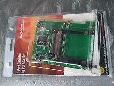 StarTech PCI2PCMCIA1E 1-Port PCI to CardBus PCMCIA Adapter Card