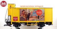 G - LGB L43359 Kühlwagen Coca Cola mit Bremserhaus DB Epoche:III