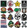 Embroidered GAME Iron On  Sew On Patches Badges Transfers - Fancy Dress