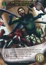 DR OCTOPUS Upper Deck Marvel Legendary SP OCTO-PULVERIZE
