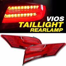 LED Surface Emitting Tail Light Rear Lamp For TOYOTA 2014-2016 Yaris Vios Sedan