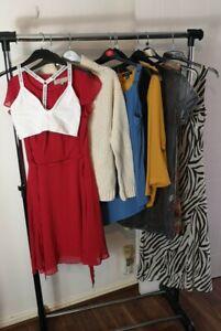 Womens Ladies Clothes Bundle Size 12 Midi Dress Blouse Sweater Shirt Top Bra M3