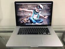 Apple MacBook Pro 15 Quad Core i7 PRE-RETINA 16GB RAM 1TB SSD FUSION MacOS-2016