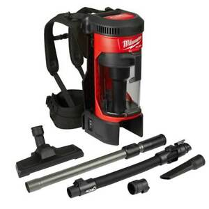 Milwaukee M18 0885-20 18-Volt FUEL 3-in-1 Cordless Backpack Vacuum - Bare Tool