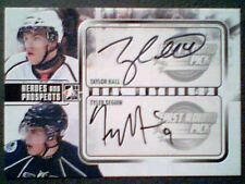TAYLOR HALL / TYLER SEGUIN  AUTHENTIC DUAL PRE-ROOKIE AUTOGRAPH /10  SSP