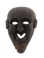 Maschera Massa Nepal De L'Himalaya Sciamano-Viso Humain Tribale 5452 W6