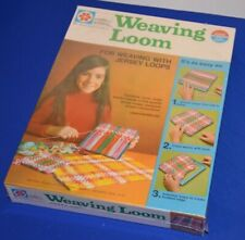 1971 Milton Bradley Weaving Loom Factory Sealed