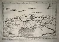 1770 Schley - Map of Venezuela, Margarita, Trinidad & Grenadines - Fine