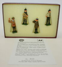 More details for 1993 gerry ford design - set of 4 hand-painted aa patrolmen figures