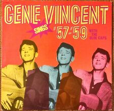Gene Vincent & The Blue Caps Sings 57-59 LP Rare French Press Rockabilly