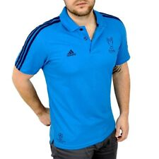 Adidas polo para hombre Camisa camisa Finale fútbol Champions League uefa Men UCL azul