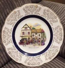 """1960s Great Looking """"Ascot Service Plate, """" Made By Wood and Sons England."""