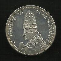 Pope Paulus VI Pont. Maximus - Medal 35mm