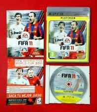 FIFA 11 - PLAYSTATION 3 - PS3 - USADO - MUY BUEN ESTADO
