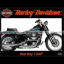 HARLEY-DAVIDSON N°86 ★ 1340 BAD BOY ★ LA REVUE 'ENTHUSIAST' DES ANNEES 80 ★